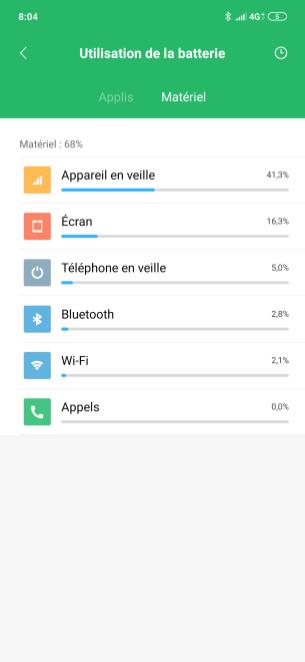 Redmi Note 7 MIUI 10 Batterie (3)