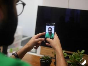 Samsung Galaxy S10e selfie