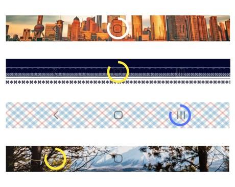 Barres de navigation batterie flori 2