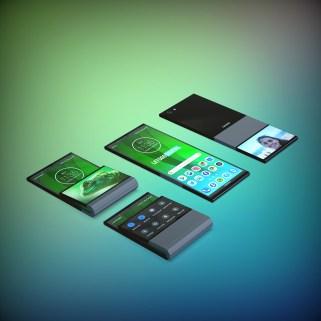 Lenovo smartphone pliable ok