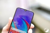 Samsung Galaxy A40 encoche