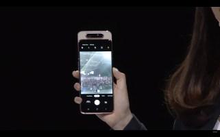 Samsung GAlaxy A80 selfie