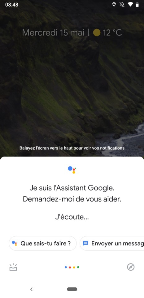 Google Assistant ancien design
