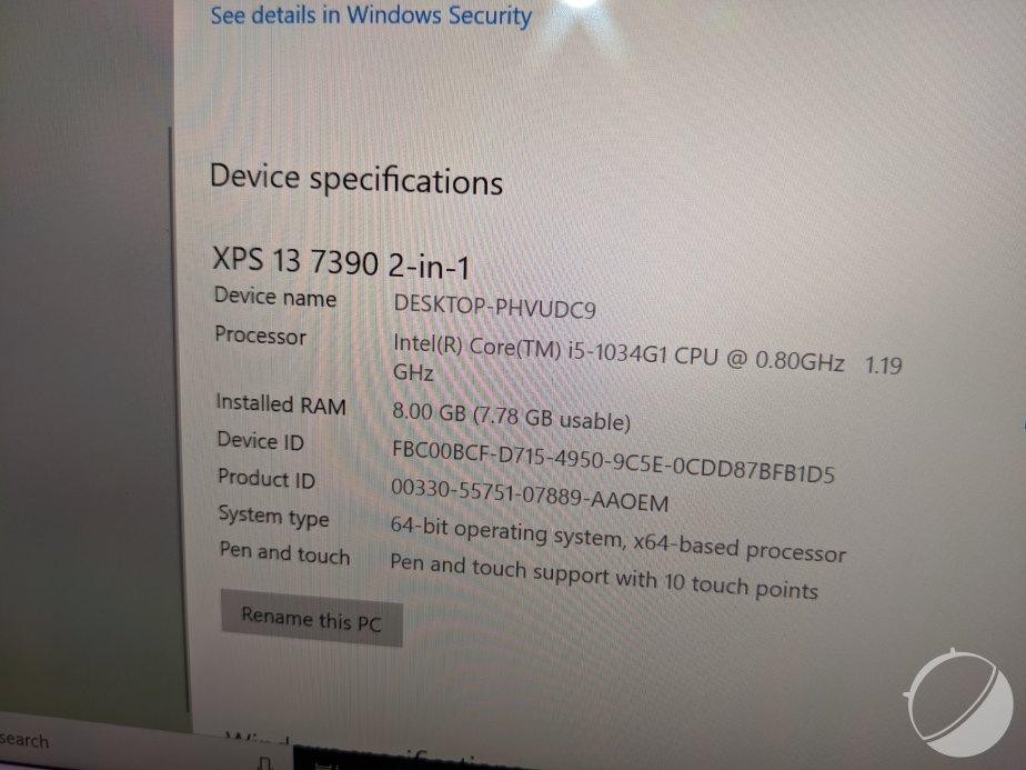 Dell XPS 13 2-en-1 2019 Ice Lake PEM (9)