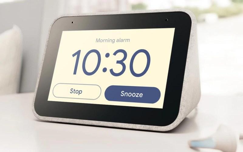 Le surprenant réveil Lenovo Smart Clock à seulement 69 euros chez Boulanger 1