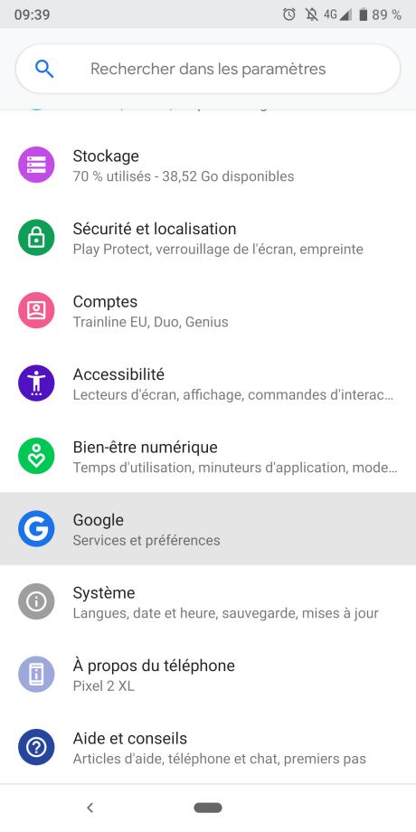 DOnnées Google 1