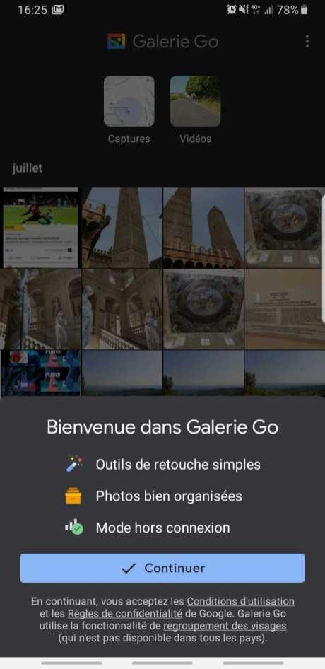 Google Galerie Go