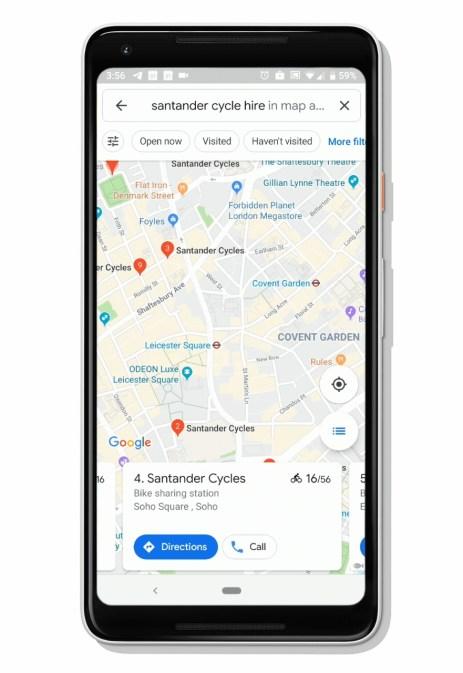 Google Maps Velos libre service (1)