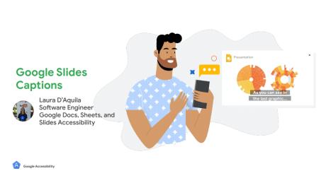 Google Slides accessibilité