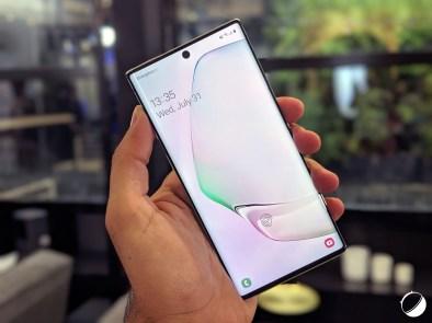Samsung Galaxy Note 10 une