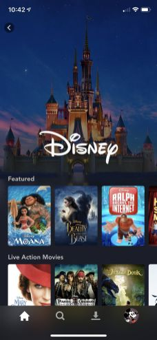 Disney Plus Android disney