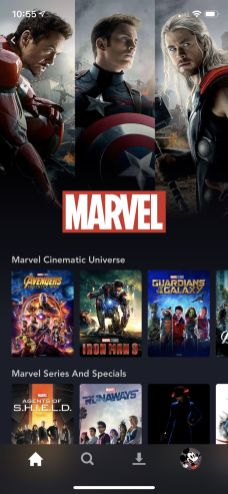 Disney Plus Android marvel