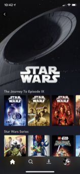 Disney Plus Android sw