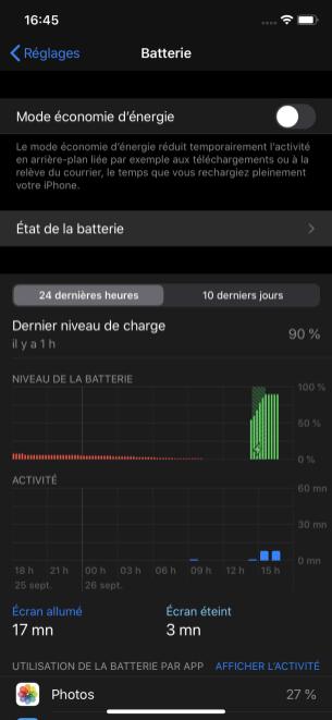Recharge optimisée batterie 2
