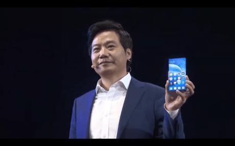 Le Xiaomi Mi Mix Alpha pour illustration