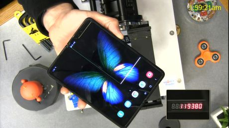 Galaxy Fold CNET test 1