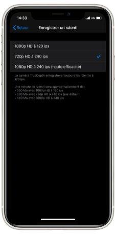 iPhone 11 Camera UI parametres (4)