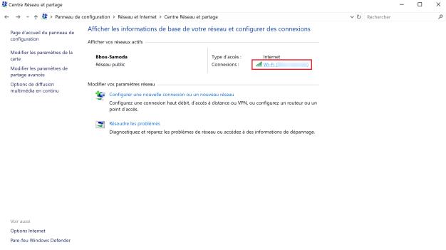 retrouver mot de passe wi-fi windows 3