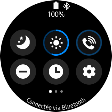 screen 20191013 091340 - Test of the Samsung Galaxy Watch Active 2: very nice and a bit awkward - FrAndroid