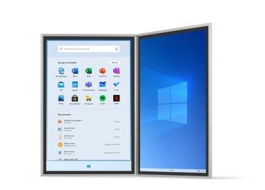 Windows 10X OS UI1