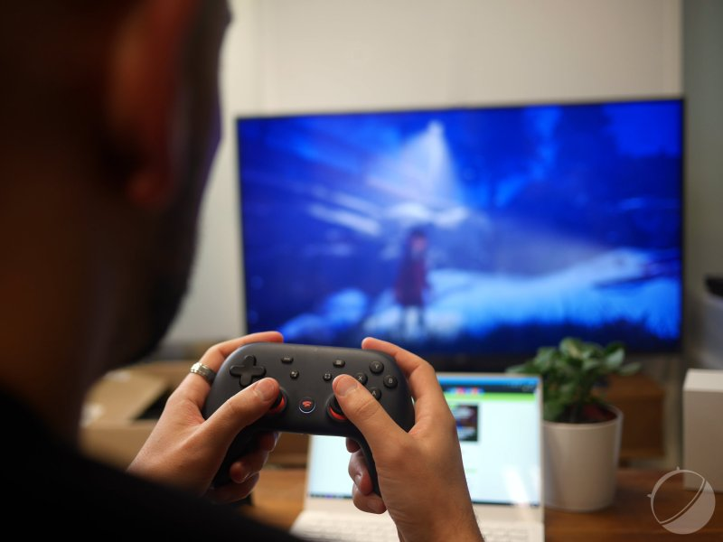 Google Stadia sur Android TV