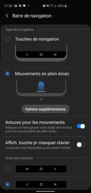 screenshot 20191104 172016 settings - Samsung One UI 2.0: our takeover of the new interface - FrAndroid