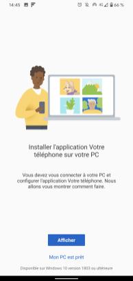 Microsoft votre téléphone 6
