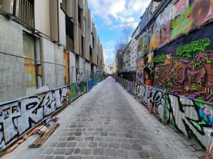 rue art ultra grand-angle