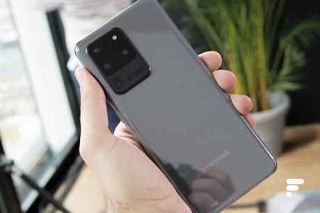 Samsung Galaxy S20 Ultra dos alter