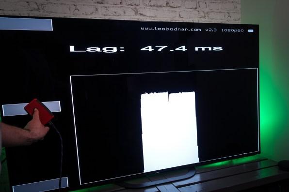 La mesure d'Input lag n'est pas en faveur de ce téléviseur Sony