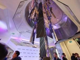 Huawei flagship store sculpture