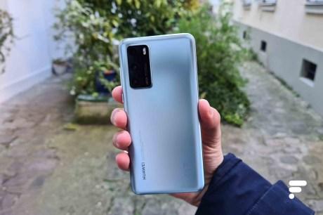 Le dos du Huawei P40