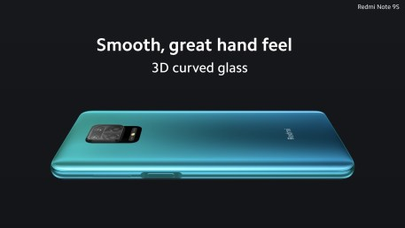 Redmi Note 9S back design 2