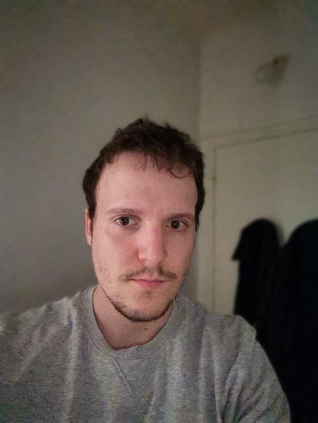 Mode portrait du Honor 9X Pro, selfie