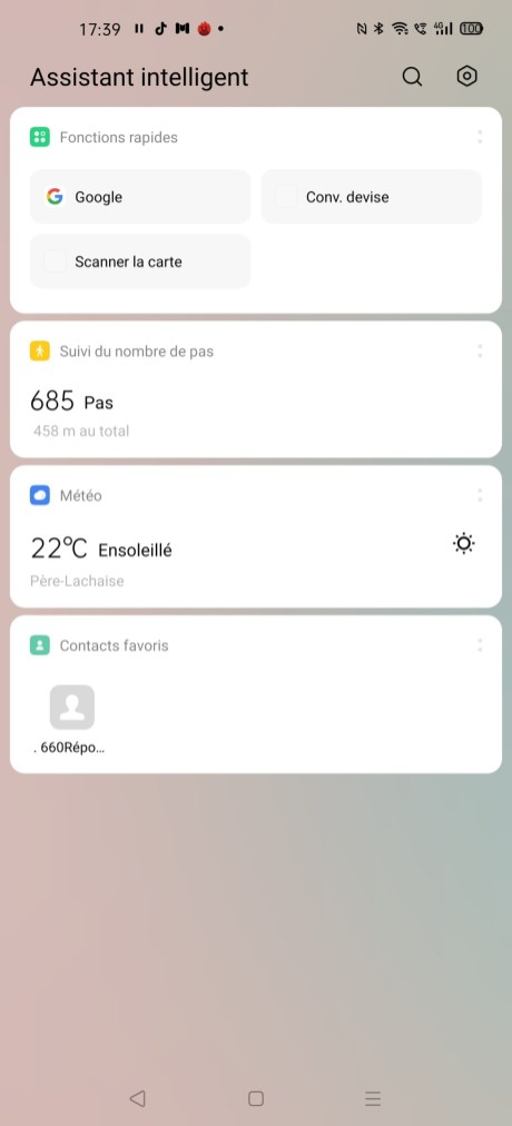 L'assistant intelligent de l'Oppo Find X2 Pro