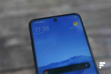 Le poinçon du Xiaomi Redmi Note 9S