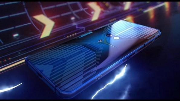 L'arrière du smartphone Lenovo Legion