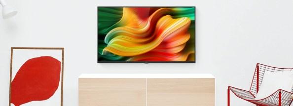 SmartTV Realme de 43 pouces, sur support mural // Source : Realme