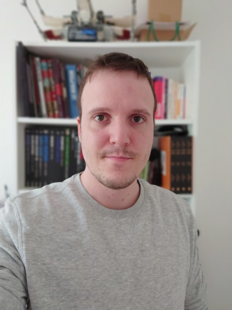 Photo en mode portrait du Sony Xperia 1 II