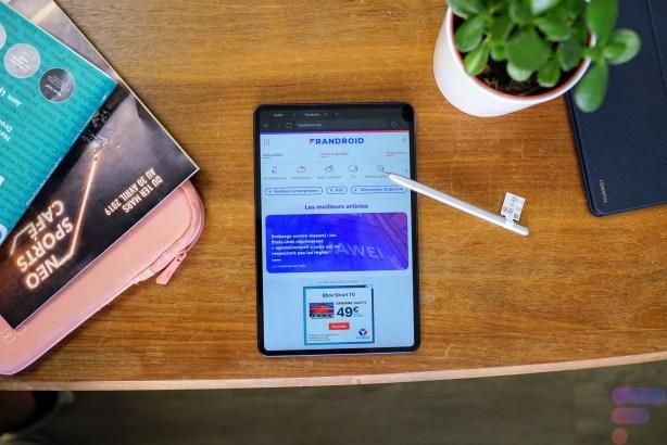 c_Huawei MatePad Pro - Frandroid - DSC04968