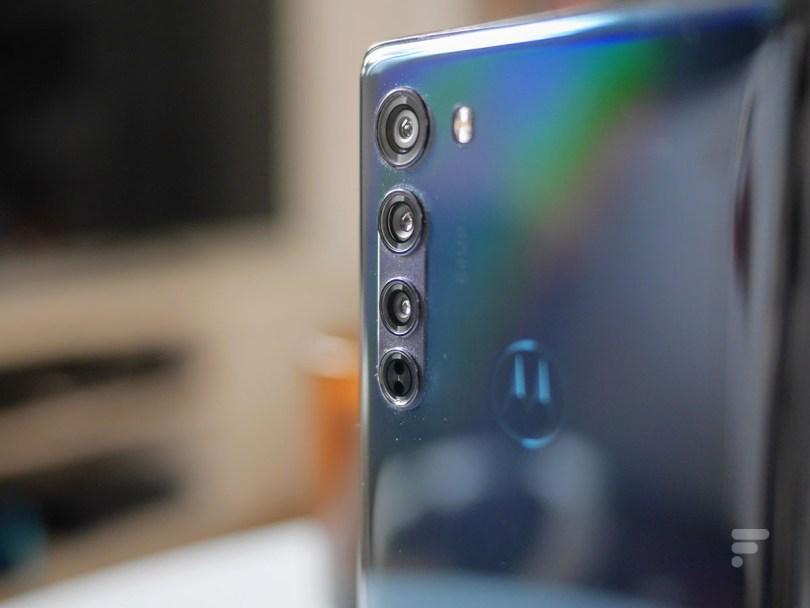 Le module photo du Motorola Edge