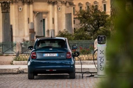 Fiat 500e électrique