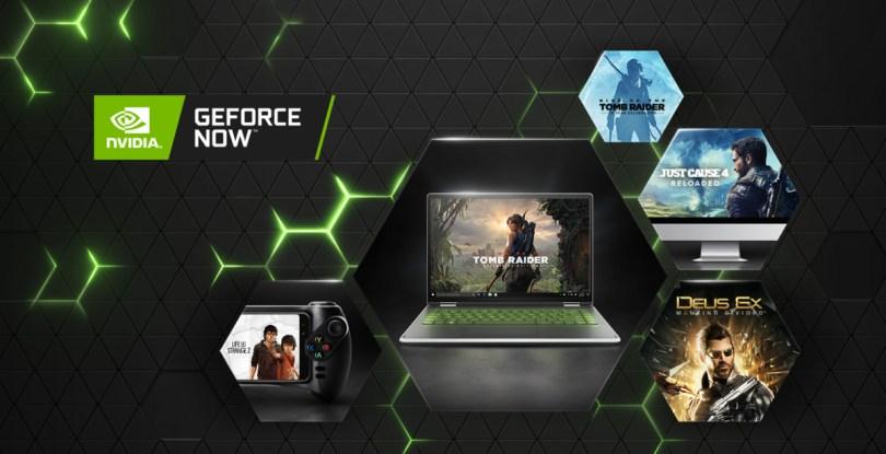 Square Enix et GeForce Now