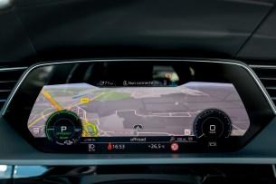 L'écran d'info-divertissement // Source: Étienne Rovillé pour Audi France