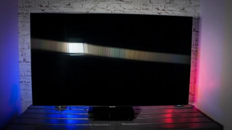 Le filtre QLC assure la diffraction des reflets sur la dalle