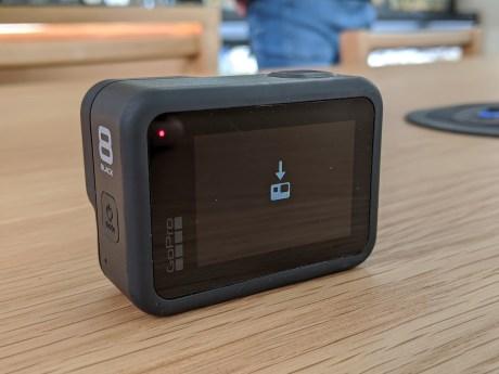 L'installation du logiciel Bêta sur la GoPro Hero 8 Black // Source : Maxime Grosjean pour Frandroid