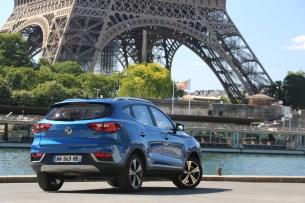 Le MG ZS EV // Source : Yann Lethuillier pour Frandroid