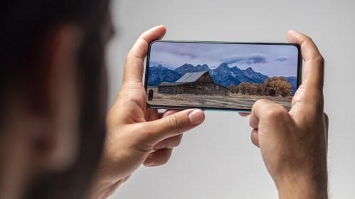 OnePlus Nord à l'horizontale