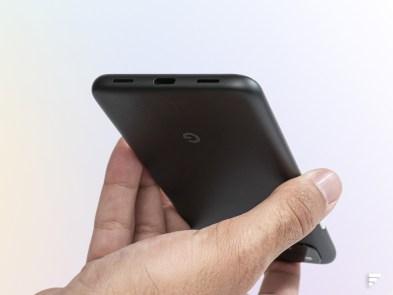 USB-C sur le Google Pixel 4a