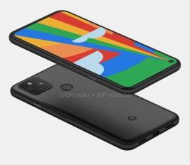 Aperçu du Google Pixel 5